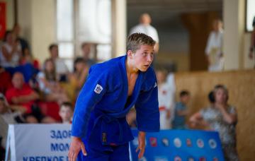 Открытый турнир по борьбе дзюдо среди юношей